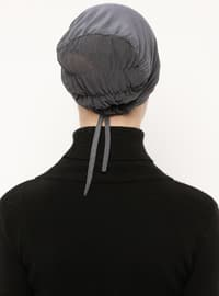 Anthracite - Lace up - Viscose - Bonnet