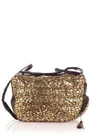 Khaki - Leopard - Shoulder Bags