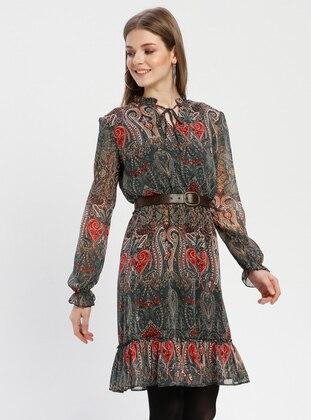 5598908fb7ab4 Kaktüs Tesettür Elbise Modelleri ve Fiyatları - Modanisa.com