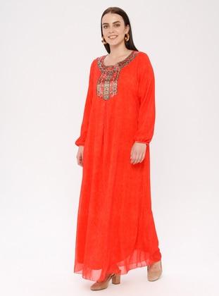 Coral Plus Size Dresses - Shop Women\'s Plus Size Dresses | Modanisa