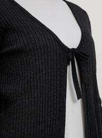 Anthracite - Cotton - Cardigan