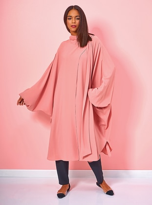 Dusty Rose - Polo neck - Tunic