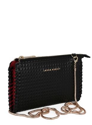 Black - Clutch Bags / Handbags - Laura Ashley