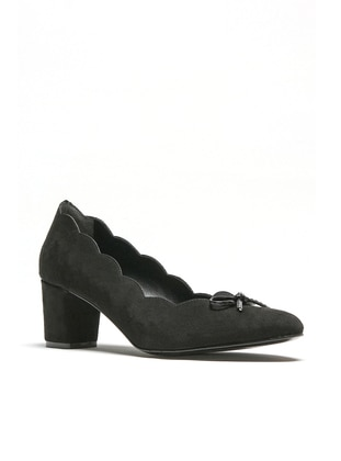 Black - High Heel - Sports Shoes