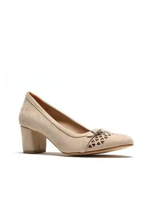 Beige - High Heel - Sports Shoes