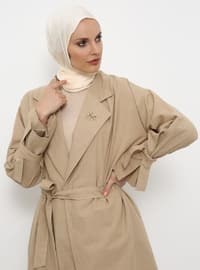 Minc - Unlined - Shawl Collar - Cotton - Topcoat