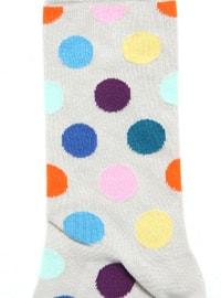 Pink - Gray - Socks