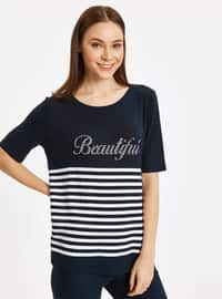 Navy Blue - T-Shirt