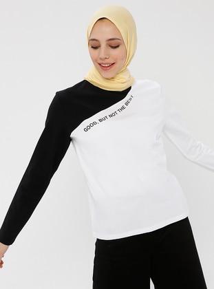 White - Cotton - Blouses