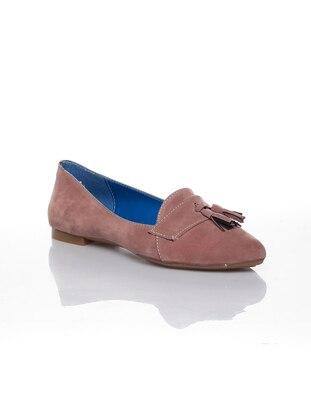 Dusty Rose - Flat - Flat Shoes