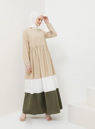 Minc - Crew neck - Unlined - Viscose - Dress