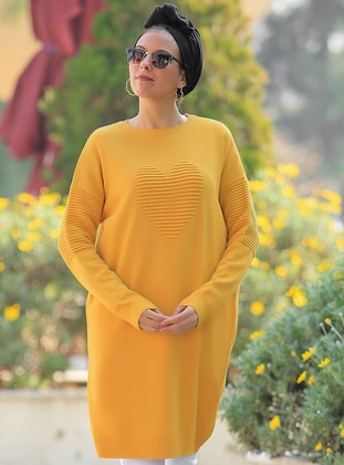 Mustard - Multi -  - Tunic