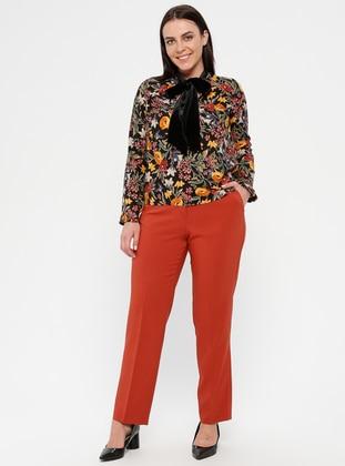 Terra Cotta - Plus Size Pants