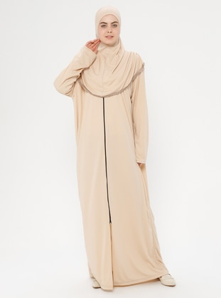 Beige - Unlined - Prayer Clothes