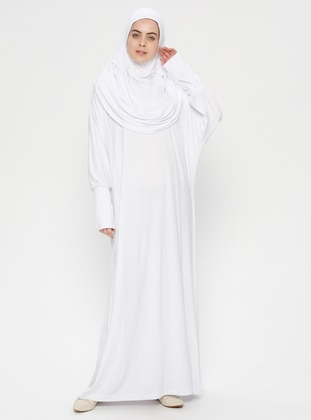 White - Ecru - Unlined - Prayer Clothes