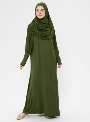 Khaki - Unlined - Prayer Clothes - Hal-i Niyaz
