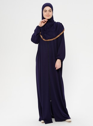 Navy Blue - Unlined - Prayer Clothes