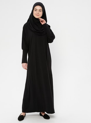 Black - Unlined - Prayer Clothes - Hal-i Niyaz