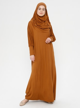 Tan - Unlined - Prayer Clothes - Hal-i Niyaz