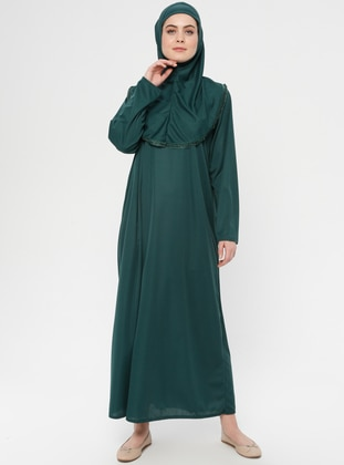 Green - Emerald - Unlined - Prayer Clothes