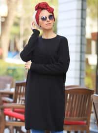 Black - Multi -  - Tunic