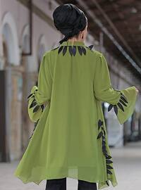 Olive Green - Crew neck - Tunic
