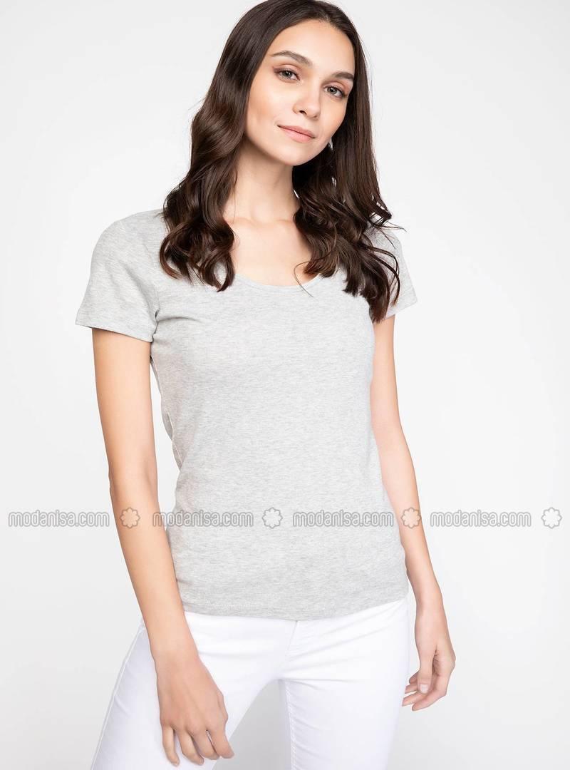 Gray - T-Shirt