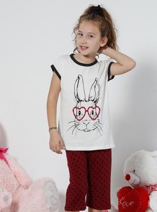 White - Ecru - Multi - Kids Pijamas