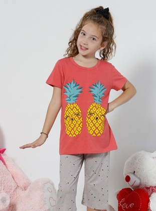 Multi - Coral - Kids Pijamas