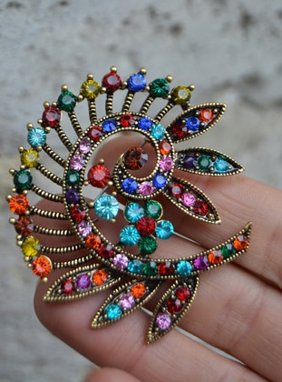 Multi - Brooch - Artbutika