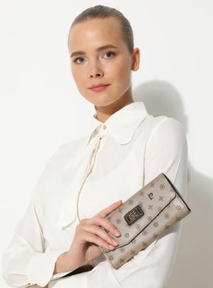 Khaki - Gold - Wallet