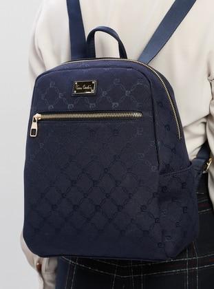 Navy Blue - Backpacks - Pierre Cardin