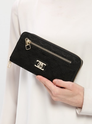 Black - Wallet - Pierre Cardin Çanta