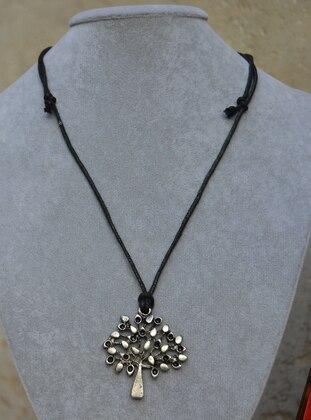 Silver tone - Necklace - Artbutika