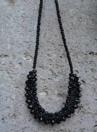 Black - Necklace - Artbutika