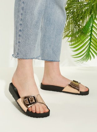 Brown - Sandal - Slippers - TWIGY