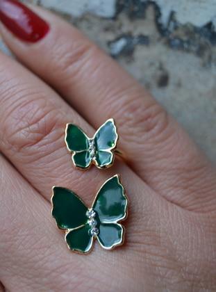 Green - Ring - Artbutika