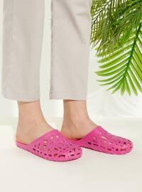 Pink - Fuchsia - Sandal - Slippers - TWIGY