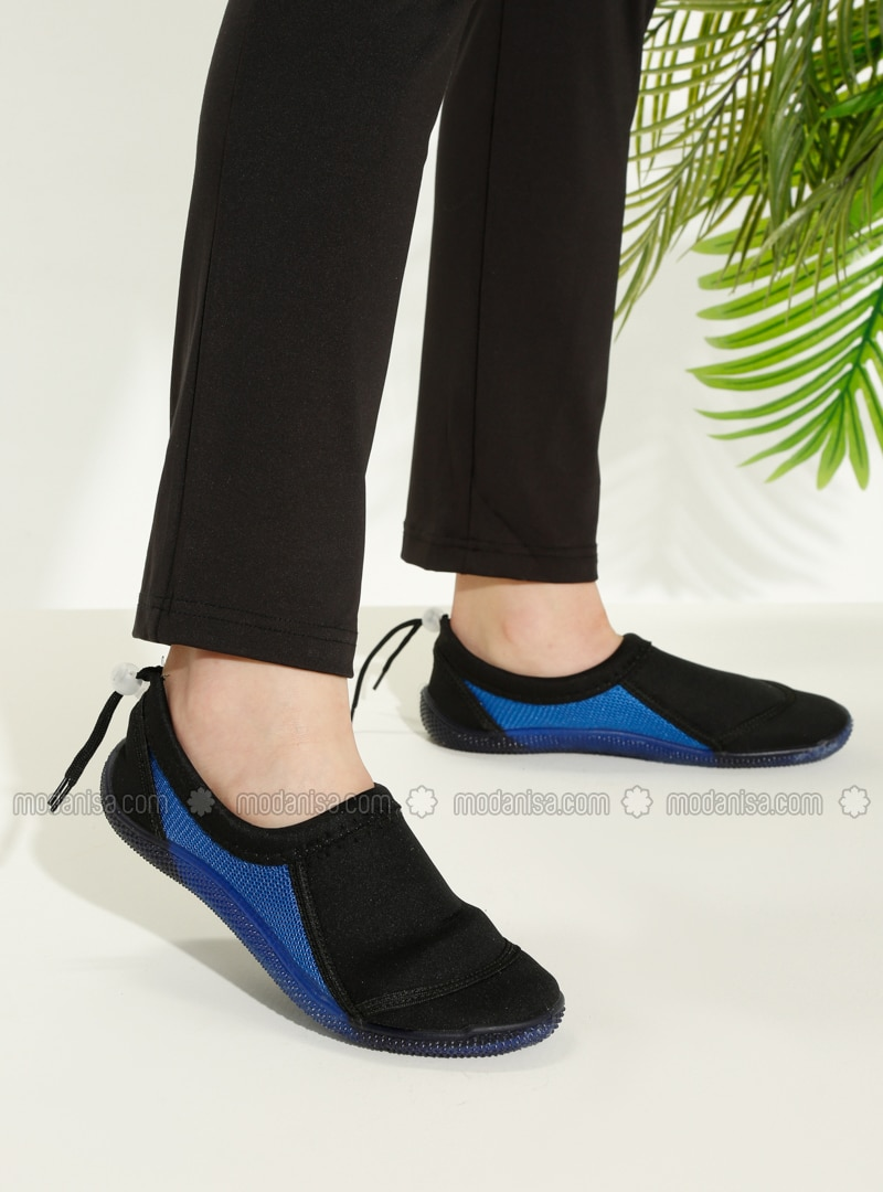 Black - Saxe - Sandal - Slippers - TWIGY