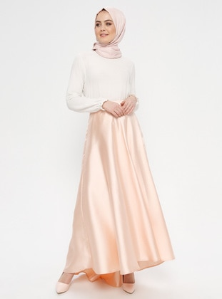 Salmon - Unlined - Skirt - Loreen By Puane