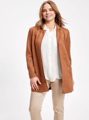 Brown - Puffer Jackets