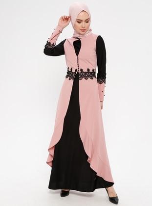 Powder - Polo neck - Unlined - Dress