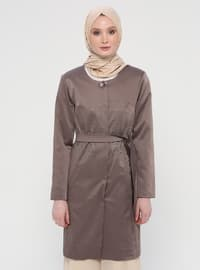 Minc - Fully Lined - Crew neck - Cotton - Topcoat