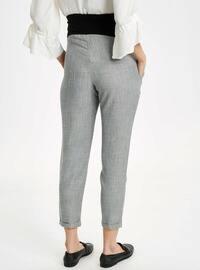 Gray - Maternity Pants