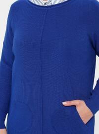 Saxe - Crew neck - Acrylic -  - Plus Size Tunic
