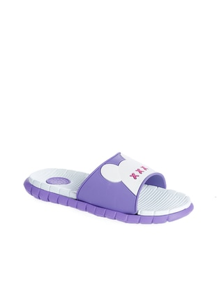 White - Purple - Fuchsia - Sandal - Girls` Shoes