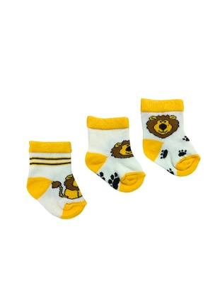Multi - Cotton - Yellow - Socks