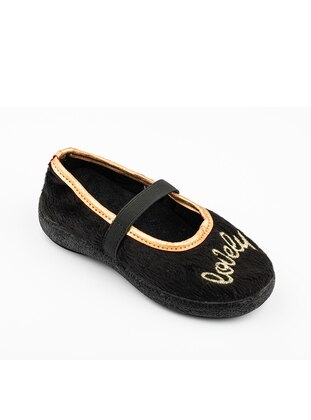Black - Kids Home Shoes