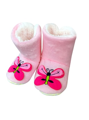 Pink - Boot - Home Shoes