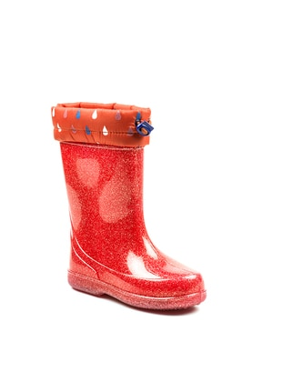 Red - Boot - Girls` Boots